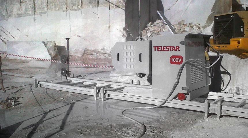 TELESTAR PLUS – Sezionatrice da cava