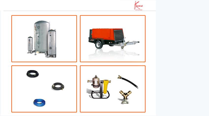 Accessori sistemi di produzione e distribuzione aria compressa